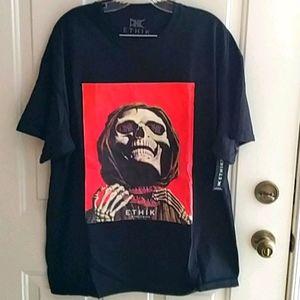 Ethik Grim Reaper Skull Tshirt